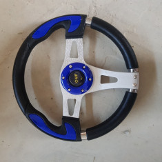 Volan Sport OMP albastru universal