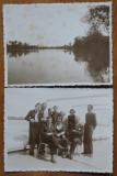 4 fotografii originale din Valcov , Vaporul Regele Carol II , 1937