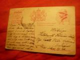 Carte Postala Ferdinand in costum militar circulat 1929