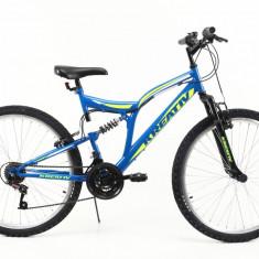 Bicicleta Mtb Kreativ 2641 Albastru M 26 inch, V-brake