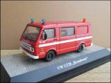 """Macheta Volkswagen LT28 """"Brandweer"""" (1975) 1:43 Premium ClassiXXs"""