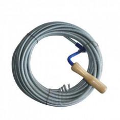Cablu (sarpe) spirala pentru desfundat tevi de scurgere, Strend Pro KPZ, lungime 3 m, cap 1.4 cm, cablu 6.3mm