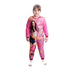 Pijama salopeta fete Soy Luna In Your Way fucsia