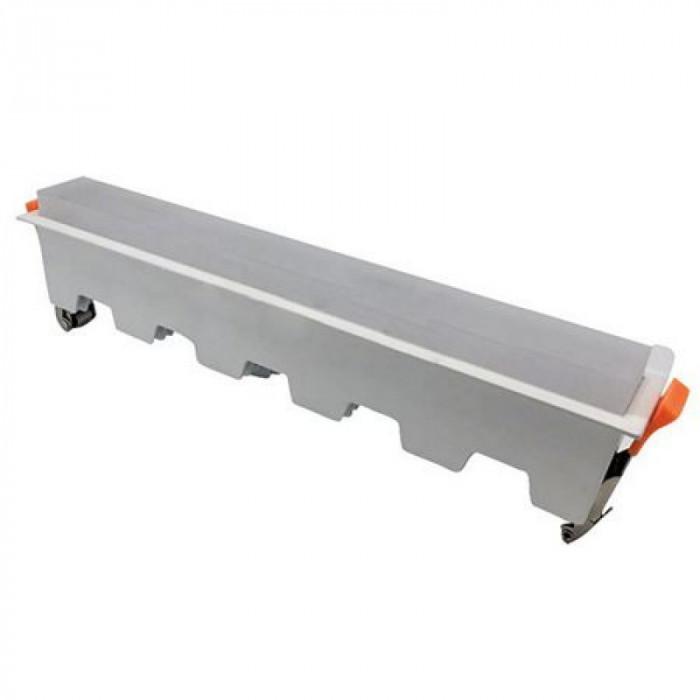 Plafoniera LED incorporabila, 20 W, temperatura culoare alb rece