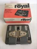 Dispozitiv taiat + lipit film 8 mm \ super 8 mm \ 16 mm Royal Universal Film