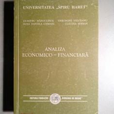 Analiza economico-financiara - D. Margulescu, I.D. Cismasu, Gh. Valceanu