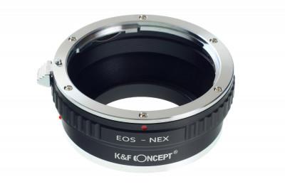 K&F Concept EOS-NEX II adaptor montura Canon EOS la Sony E-Mount (NEX) KF06.361 foto