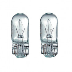 Bec auto auxiliar cu Halogen General Electric W3W 12V 3W Blister