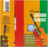 Caseta Sabicas / Pepe Martinez- Genios De La Guitarra Flamenca, originala