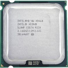 Procesorul Intel Xeon Quad Core X5460 3.16Ghz,modat 775, performante peste Q9650