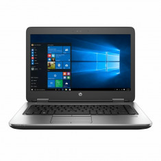 "Laptop HP ProBook 640 G3 cu procesor Intel® Core™ i7-7600U 2.80 GHz, Kaby Lake, 14"", Full HD, 8GB, 256GB SSD, DVD-RW, Intel HD Graphics 620, Microsoft"