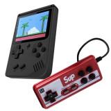 Cumpara ieftin Mini consola portabila Gameboy Sup, 400 jocuri, acumulator 1020 mAh, 1 x controller, General