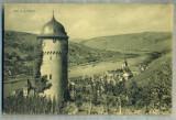 AD 355 C. P. VECHE - ZELL A.D. MOSEL -CIRCULATA IN 1913 CATRE SERBAN OTETELESANU, Franta, Printata