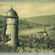AD 355 C. P. VECHE - ZELL A.D. MOSEL -CIRCULATA IN 1913 CATRE SERBAN OTETELESANU
