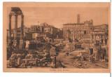 CPIB 16758 CARTE POSTALA - ROMA. FORO ROMANO, VECHE, 1931, Germania, Circulata, Printata
