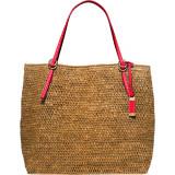Santorini Large Raffia Tote Bag