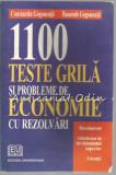 1100 Teste Grila Si Probleme De Economie Cu Rezolvari - Constantin Gogoneata