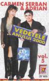 Caseta Carmen Șerban & Adrian – Vedetele Anului 2000 Vol. 5, originala, manele