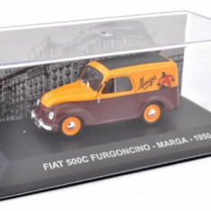 Macheta FIAT 500C FURGONCINO MARGA 1950 scara 1:43 IXO