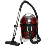 Aspirator cu filtrare prin apă Samus Aquafilter Red, 1550 W, Umed/uscat, 15 L, Funcție suflare aer, Perie pentru aspirare lichide, Filtru HEPA, Rosu/G