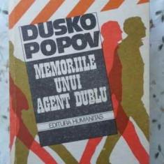 MEMORIILE UNUI AGENT DUBLU - DUSKO POPOV