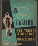 C9094 CATALOG NOI TUBURI ELECTRONICE SI TRANZISTOARE - AL. POPOVICI