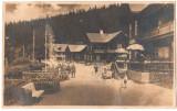 "SV * PALTINIS  * Sibiu *  SANATORIUL ""Hohe Rinne""  * turisti  * soldati  *  1932, Circulata, Printata"