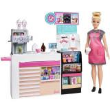 Cumpara ieftin Set Barbie by Mattel Cooking and Baking Cafenea cu papusa si accesorii