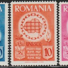 Romania Exil 1956, UNESCO vignete dantelate propaganda anticomunista Emisiunea 3