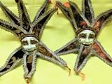 2 măști venețiene ceramice hand made