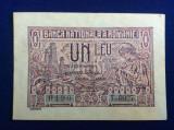 Bancnote România - 1 leu 1938 - seria 0190T.0927 (starea care se vede)
