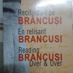 Recitindu-l pe Brâncuși, En relisant Brancusi, Reading Brancusi over & over