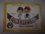Eticheta bere Romania - CINDRELUL - Sibiu  !