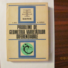 "GE - V. BOJU & M. POPESCU ""Probleme de Geometria Varietatilor Diferentiabile"""