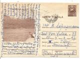 Carte postala-RESITA-Lacul Valiug-Debarcaderul, Circulata, Printata