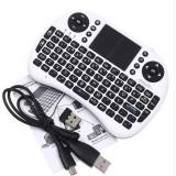 Tastatura Quer KOM0479 Bluetooth pentru Android Smart TV Alb / Negru