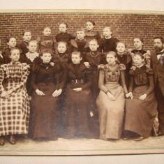 Fotografie veche pe carton - Atelierul fotografic C.LANGE din Neustadt