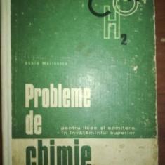 Probleme de chimie pentru licee si admitere in invatamantul superior- Achim Marinescu