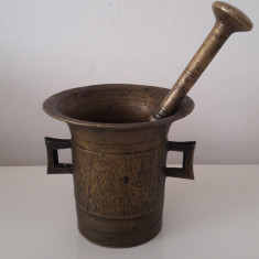 mojar vechi din bronz masiv