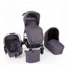 Carucior 3 in 1 copii 0 luni + Trinity Grey Melange