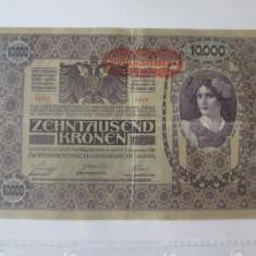 Cumpara ieftin Austro-Ungaria 10000 Kronen/Coroane 1918
