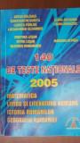 140 de teste nationale.Matematica, limba si literatura romana,istoria romanilor, geografia Romaniei Balauca