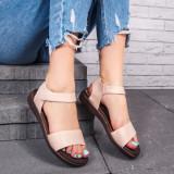 Sandale dama bej Sidera