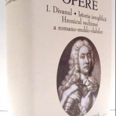 Dimitrie Cantemir OPERE vol. 1 FNSA ed. de lux velina