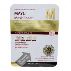 Masca faciala neagra Mayu M Celinco, 30 ml