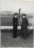 A555 Fotografie ofiteri romani aviatie doilea razboi mondial poza veche