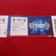 Bilet meci fotbal ROMANIA - SUEDIA (27.03.2018)