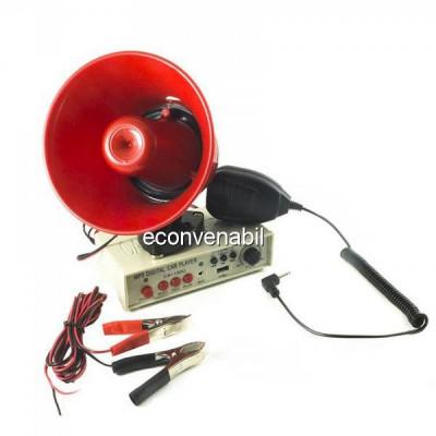 Portavoce Megafon Auto 12V Inregistrare CA150U HN230 Suport Magnetic foto