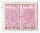 *Romania, lot 413 cu 1 diptic fiscal general, 1942, MNH