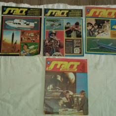 LOT 4 REVISTE STAR SPRE VIITOR  DIN ANII 1983, 1984, 1986